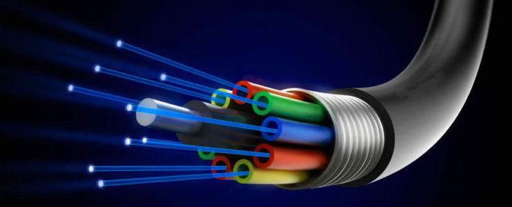 fiber optics cable installation