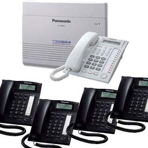 Panasonic PBX with caller ID display phones