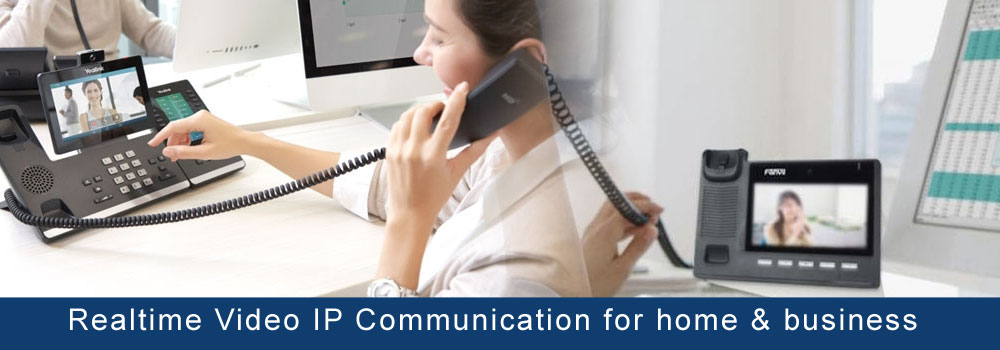 video ip communication solution for home and business